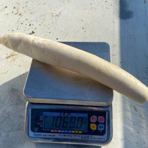 大根の重量を計測